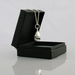 Silver Teardrop Necklace