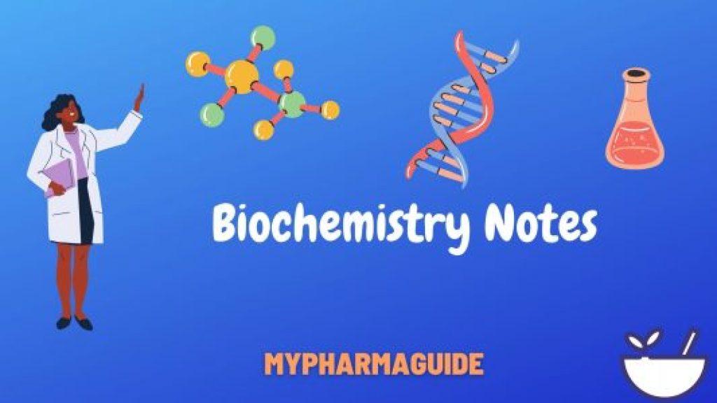 Biochemistry Notes Free Download-2020