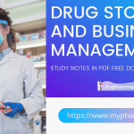 Drug Store and Business Management Notes D.Pharm Free Download - 2021