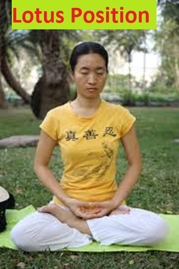 how to meditate in lotus position