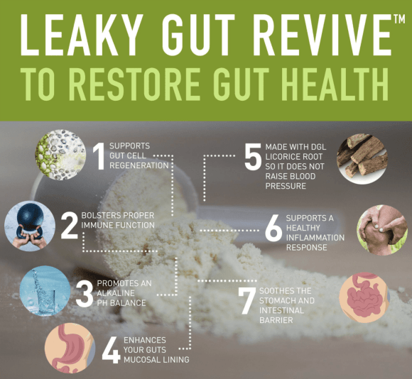 how leaky gut revive works