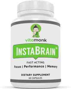 vitamonk nootropic nutrition label