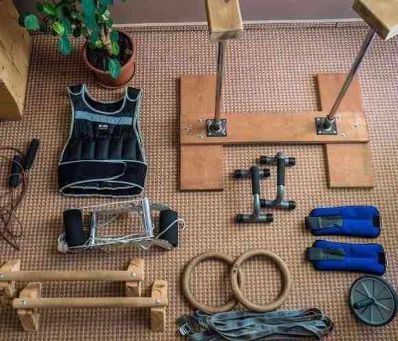 Calisthenics gym setup