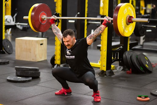 Weight lifting with NIKE'S ROMALEOS 4
