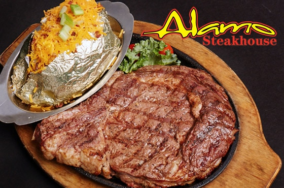Dine At The Alamo Steakhouse In Pigeon Forge Tn
