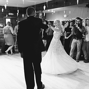 OUR WEDDING DAY: TOASTING & DANCING