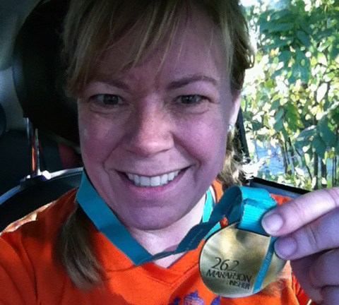 Seattle Marathon finisher!