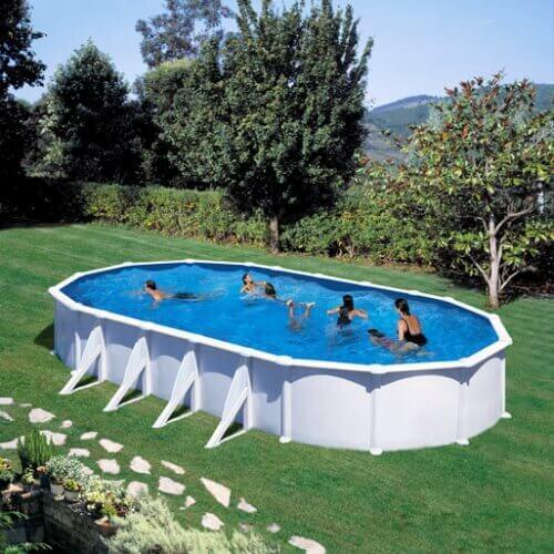 piscine hors sol atlantis 920 x 505 h132 cm filtre a sable