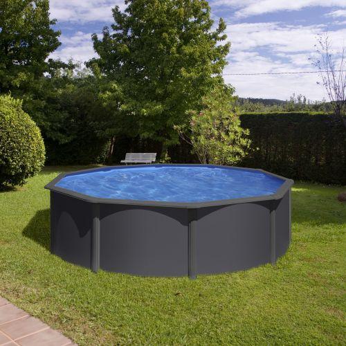 piscine hors sol louko o480 h122 cm filtre a sable