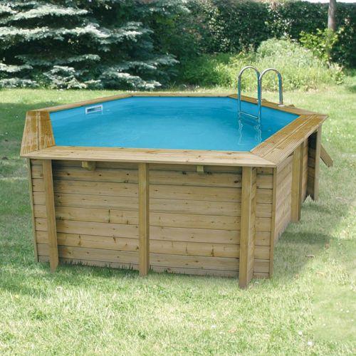 piscine en bois ubbink azura 410 cm