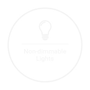 non dimmable lights