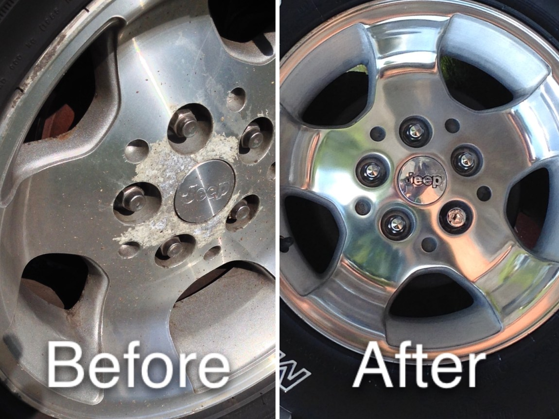 How To Get Paint Off Alloy Wheels