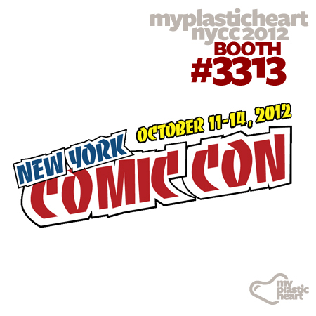 NYCC 2012 Lineup at mph's booth #3313