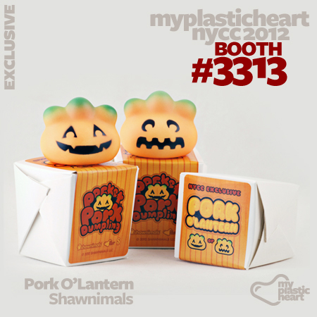 Pork O'Lantern Exclusive from Shawnimals at NYCC 2012