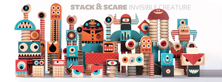 Stack and Scare video by Invisible Creature