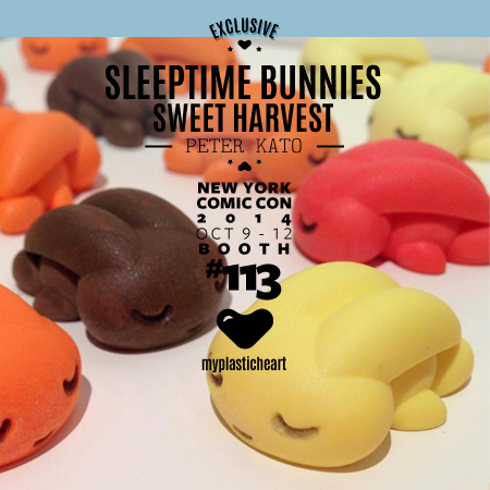 NYCC 2014 Exclusive – Sleeptime Bunnies Sweet Harvest Edition