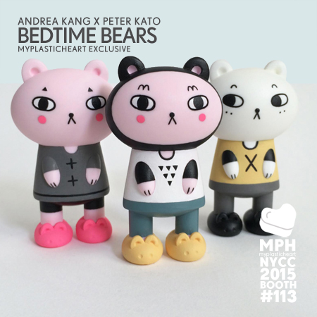 NYCC 2015 Exclusive – Bedtime Bears by Andrea Kang and Peter Kato
