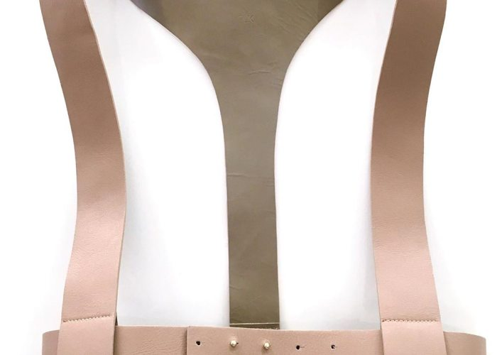 VEST HARNESS BELT Nude