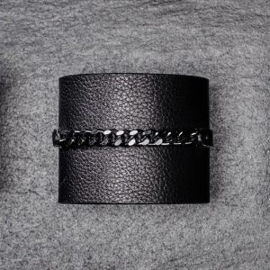 CUFF With Chain Band