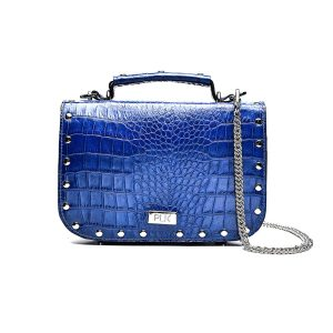 PLIK LOLA Blue Croc Print with caps