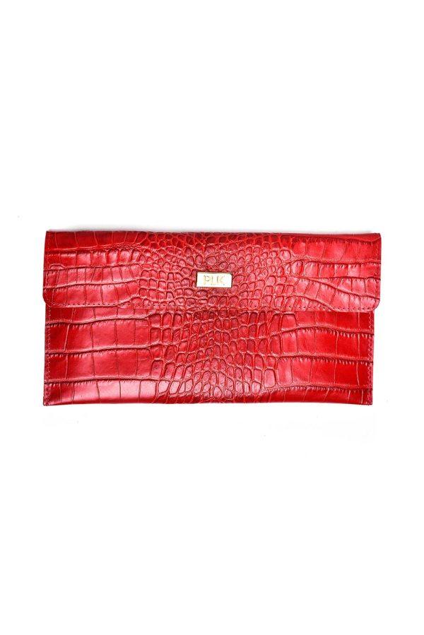 CLASSIC PLIK Mini Red Croc Print