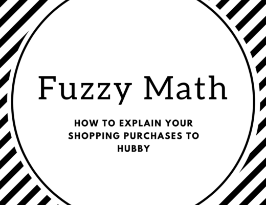fuzzy math how to explain your shopping purchases to hubby