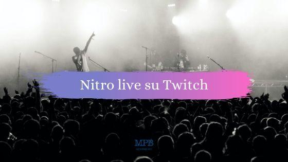 Nitro live su twitch, Twitch, Machete, Machete Aid, Novità, Eventi online, Concerti, Musica,