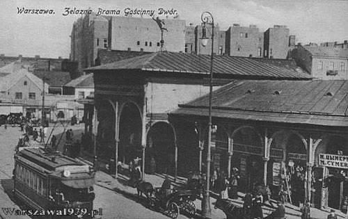 Żelazna Brama Square, Gnojna (Rynkowa) Street and Gościnny Dom Market...