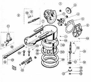 Arneson Pool Sweep II, Parts Diagram MyPool