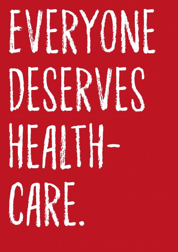Everyone Deserves Healthcare DEMOCRACY DELIVERED Send