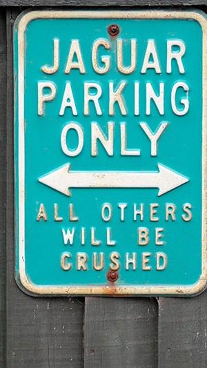 Urlaubsfoto Detail Straßenschild