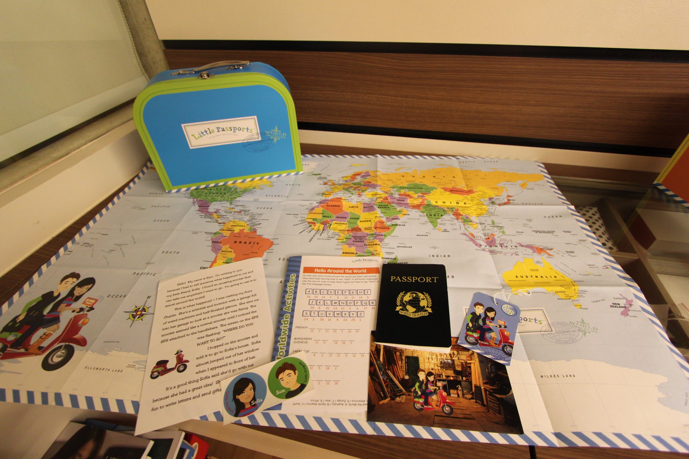 Giveaway Amp Review Little Passports Early Explorers And World Edition The Making Of Young