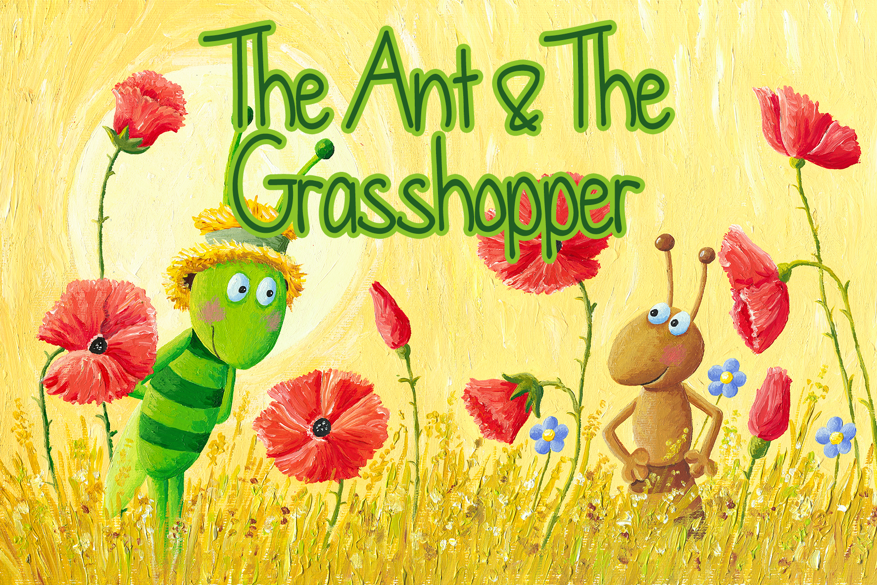 I Theatre S The Ant And The Grasshopper A Musical For