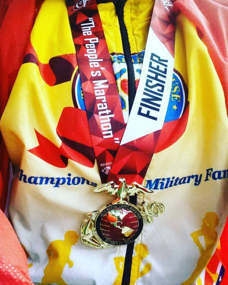 Mission Accomplished: 2015 Marine Corps Marathon