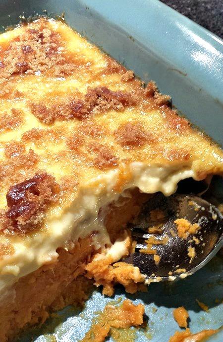 Sweet Potato Crème Brûlée - My Pretty Brown Fit