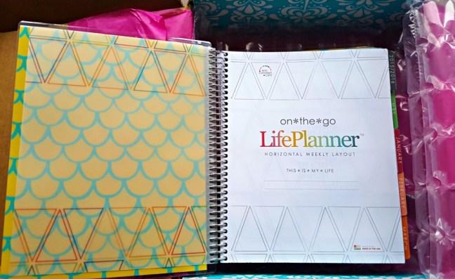 Erin Condren Life Planner - Mermaid Scales