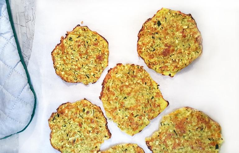 Zucchini Soft Taco Shells