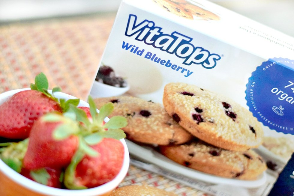 VitaTops MuffinTops Wild Blueberry
