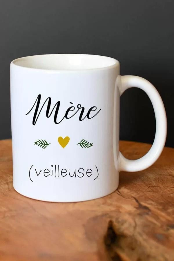 """mug céramique """"mère veilleuse"""""""