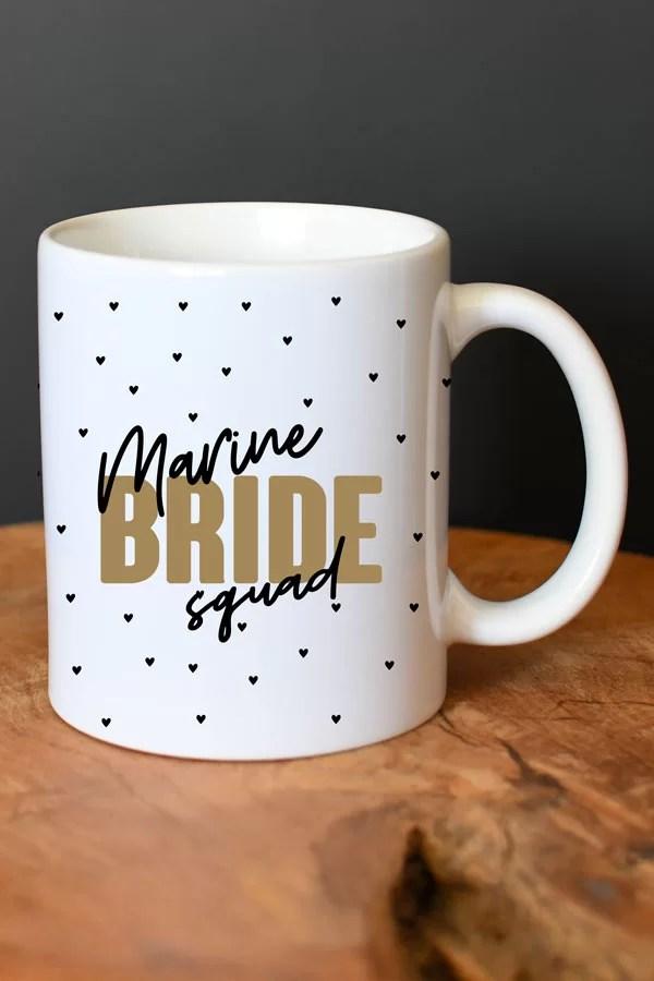 mug personnalisé bride squad EVJF