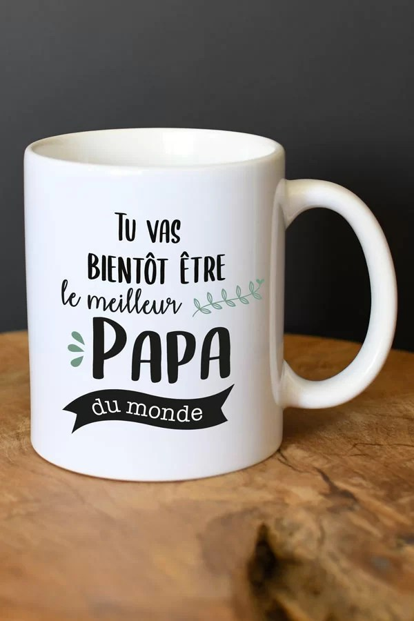 mug annonce grossesse papa