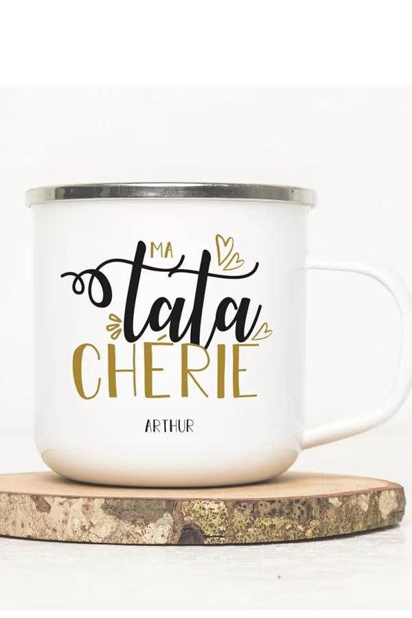 mug pour tata personnalisé