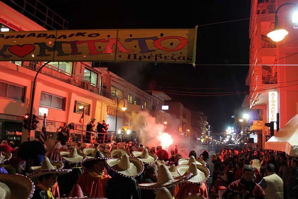 Πρέβεζα: Η ακριβής ώρα έναρξης της μεγάλης με άρματα παρέλασης του Καρναβαλικού Κομιτάτου Πρέβεζας