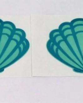 Summer Seashell Nipple Sticker Pair-Pasties-Nipple Covers