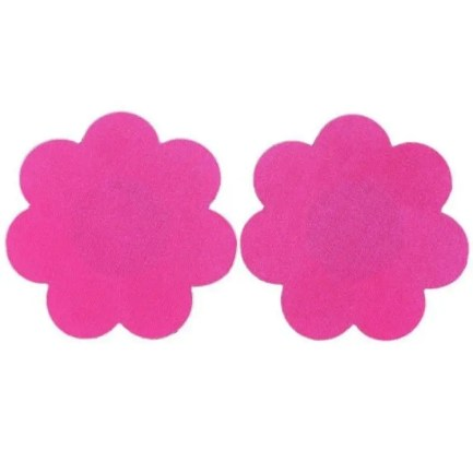 Colorful Blossom Self Adhesive Nipple Stickers