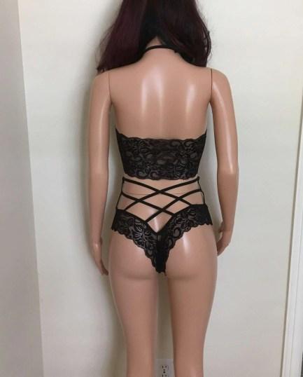 Bralette Panties Set
