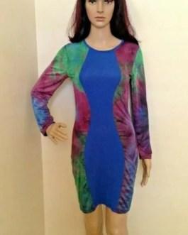 Long Sleeve Knee Length Dresses – XS – Women Fashion