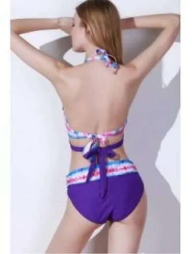 Purple Bikini Swimsuit