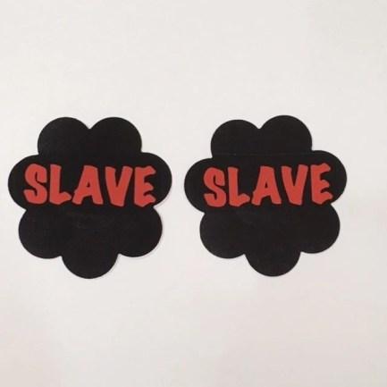 Pasties SLAVE Black