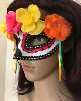 Day Of The Dead Día de los Muertos Adult Mask Sugar Skull